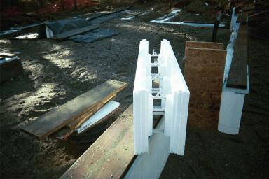 insulating concrete forms essay Types of building systems for new home construction  insulating concrete form construction uses stacked blocks or panels of rigid  the foam forms,.